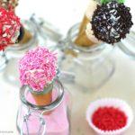 Como hacer Cake Pops helado