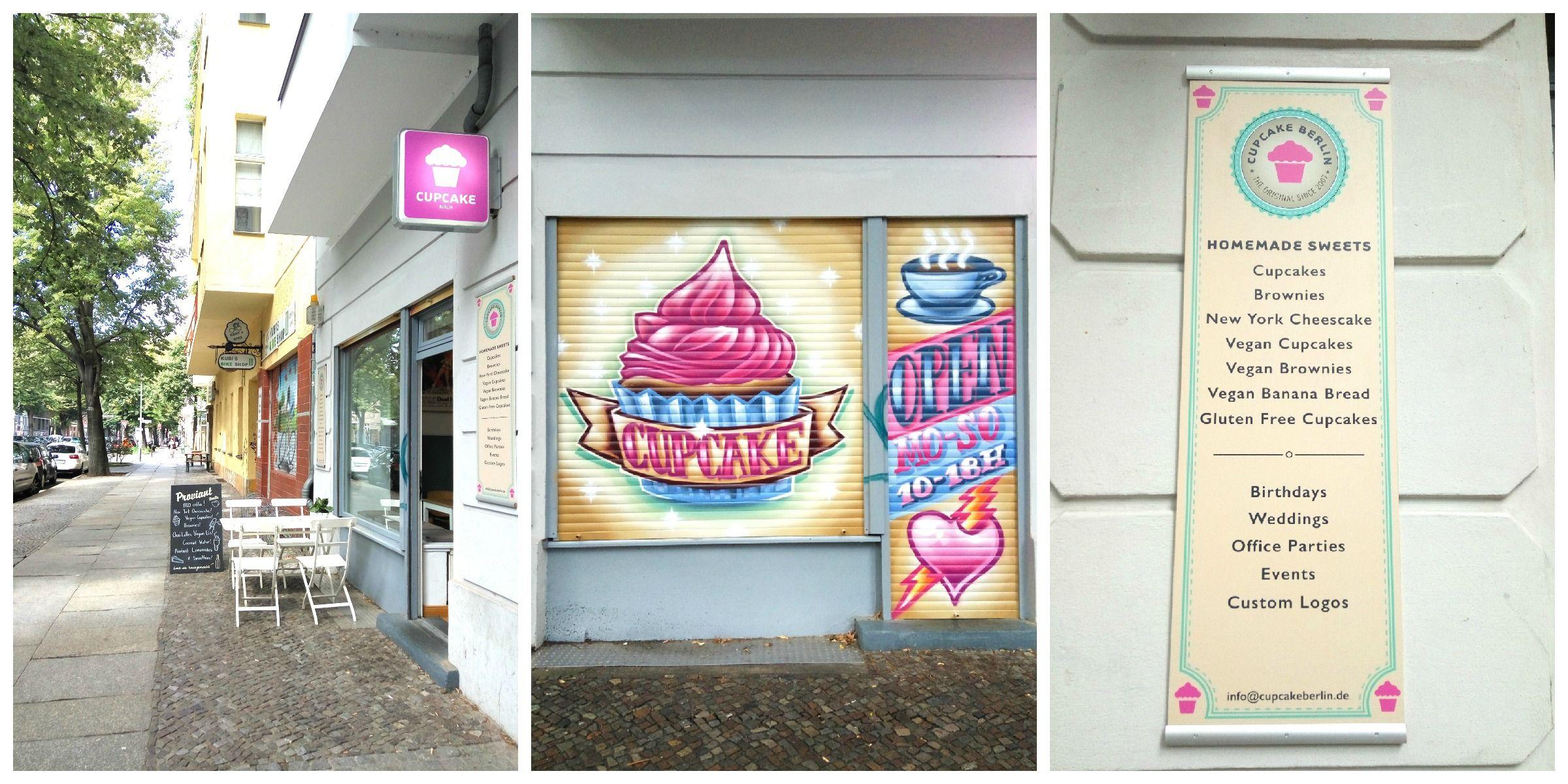 Donde comer cupcakes en Berlín, Cupcake Berlin