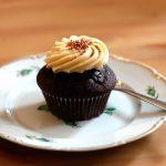 Cupcake de chocolate y Caramelo