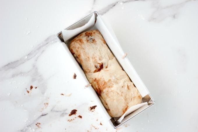 receta de pan de molde
