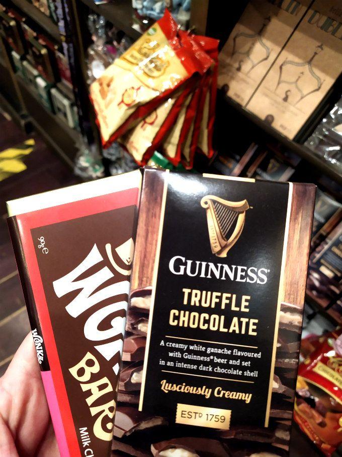 Chocolate Guinness en Dublin
