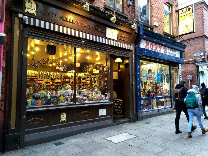 Aunty Nellie's sweet shop dublin