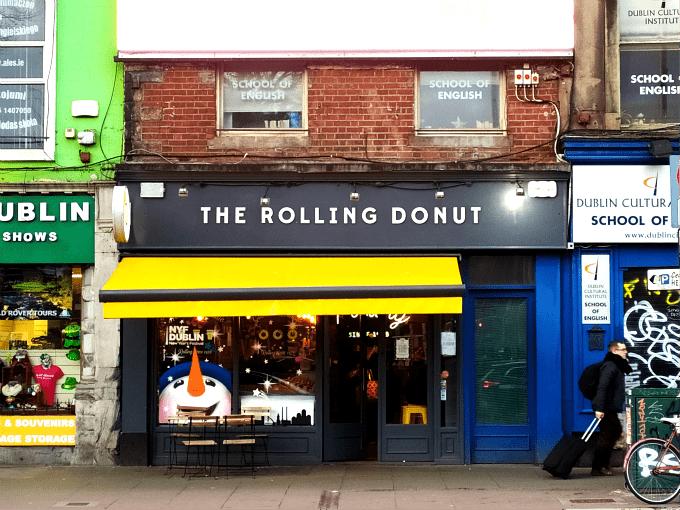 Comer dulces en Dublín